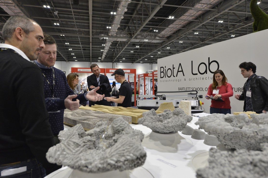 BiotA Lab at EcoBuild 2017